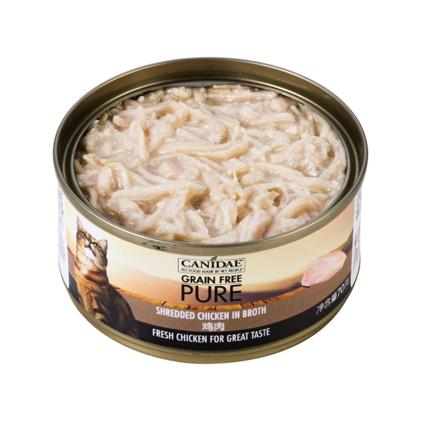 【Canidae 卡比】無穀貓用主食罐70g-共十二種口味