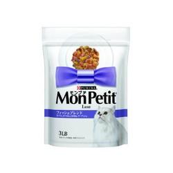 【貓倍麗MonPetit】貓倍麗乾糧(紫) 成貓鮮魚什錦(450g/3lb)