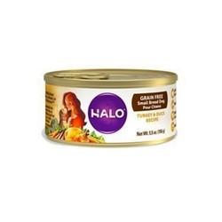 【HALO 嘿囉】成犬主食罐無穀火雞肉燉鴨肉156g