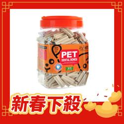 【uPet-優沛特】優沛特潔牙骨-牛奶風味1000g-4cm-8cm