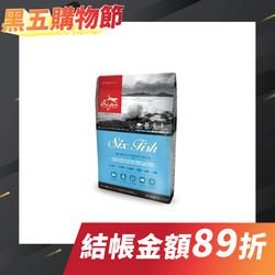 Orijen 渴望頂級成犬6種魚+海藻配方 (2kg/6kg/11.4kg)