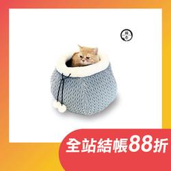 貓壱 2020貓巢秋冬款-編織灰