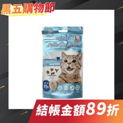 【Hulucat卡滋】化毛潔牙餅60g-海