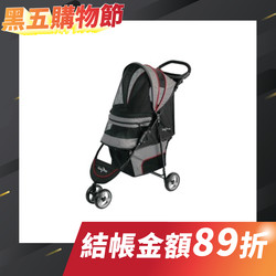 Gen7pets-君威推車-黑(兩色可選11.3kg)