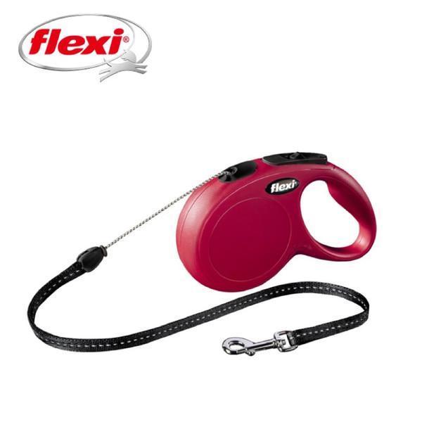 【Flexi飛萊希】進化索狀伸縮牽繩-紅S / 藍S