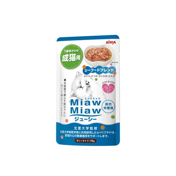 【Aixia】愛喜雅 妙喵主食軟包26號海鮮70g