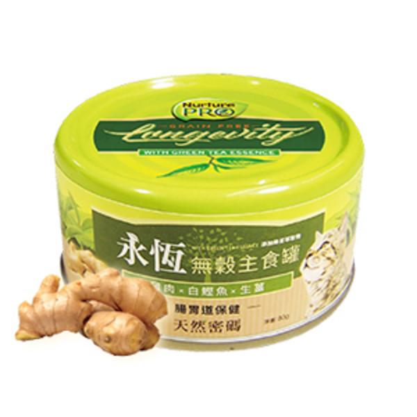 【Nurture PRO 天然密碼】永恆無穀貓咪主食罐80g-生薑