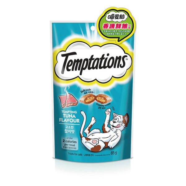 TEMPTATIONS貓餡餅-香誘鮮鮪口味85g