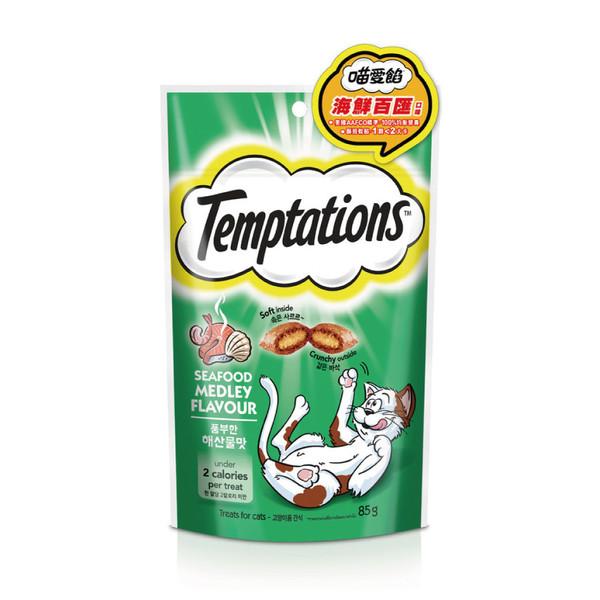 TEMPTATIONS貓餡餅-海鮮百匯口味85g