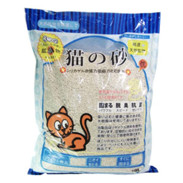 (礦)貓之砂-茉莉香薰(粗)10L