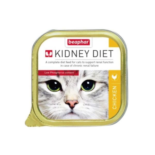 樂透貓咪腎臟保健餐盒-雞肉100g