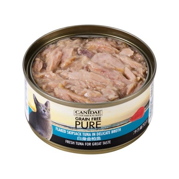 【Canidae 卡比】無穀貓用主食罐-嚴選鮪魚湯罐70g