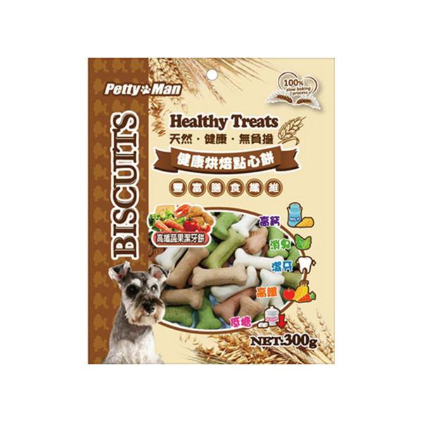 烘培點心-高纖蔬果潔牙餅300g41-PM-0003
