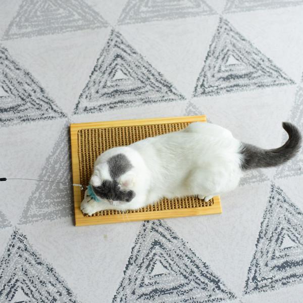 【喵仙兒】木製小型貓抓板20*40cm