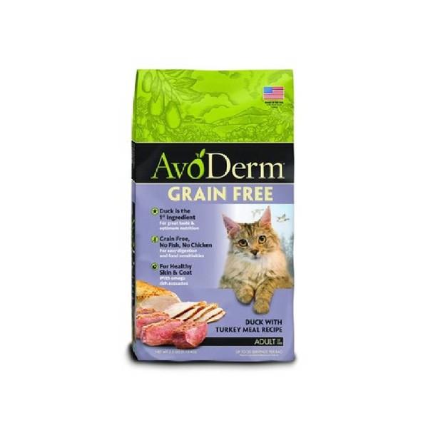 【Avoderm 愛酪麗】無穀成貓鴨肉+火雞肉-無穀成幼貓鮭魚+鮪