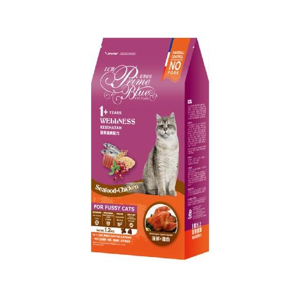 【藍帶廚坊】(貓)健康挑嘴貓海鮮雞肉1.2kg-6kg