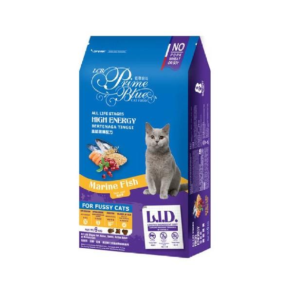 【藍帶廚坊】高能挑嘴貓海洋魚1.2kg/6kg