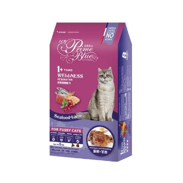 【藍帶廚坊】健康挑嘴貓海鮮羊肉1.2kg/6kg
