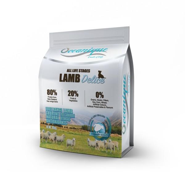 【Oceanique 歐斯恩】全齡犬糧  紐西蘭草飼羊1.6kg/8kg