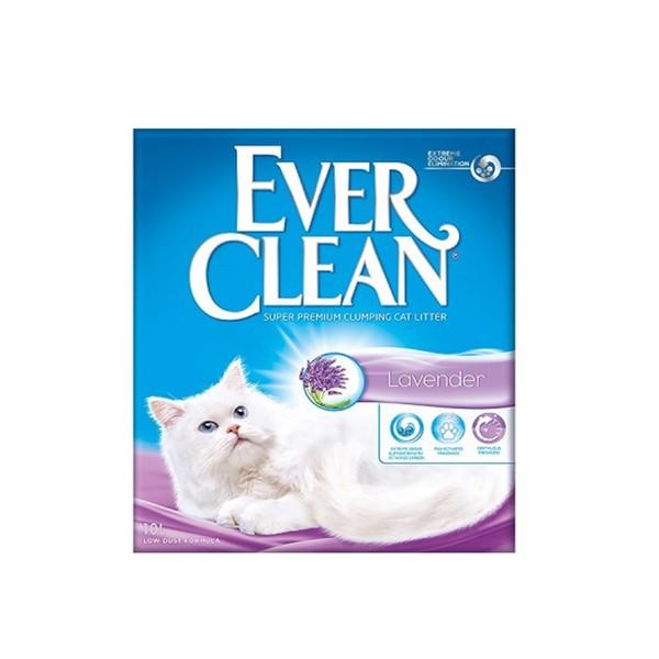 5060255492291【EVER CLEAN藍鑽】歐規薰衣草結塊貓砂10L