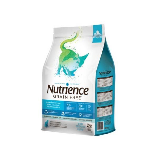 【Nutrience 紐崔斯】無穀養生貓糧(六種魚)-1.13kg