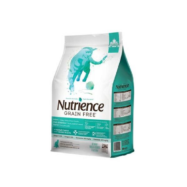 【Nutrience 紐崔斯】無穀養生-室內貓 雞肉+鴨肉+火雞1.13KG-2.5KG