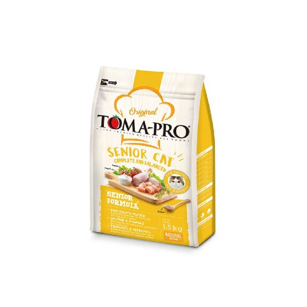 【TOMA-PRO 優格】經典系列高齡貓雞肉配方 1.5kg/3kg/7kg