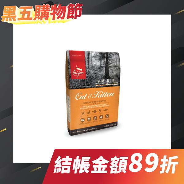 【優惠1+1】Orijen渴望頂級(貓)牧野鮮雞1.8KG贈340G