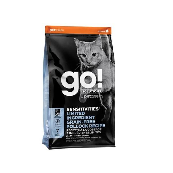 Go! 低致敏無穀系列鱈魚全貓配方8lb