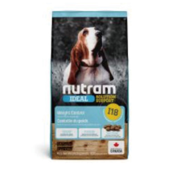 067714102413【紐頓nutram】I18體重控制成犬 雞肉+豌豆2kg