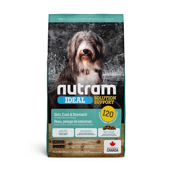 【紐頓nutram】I20 三效強化成犬 羊肉+糙米11.4kg