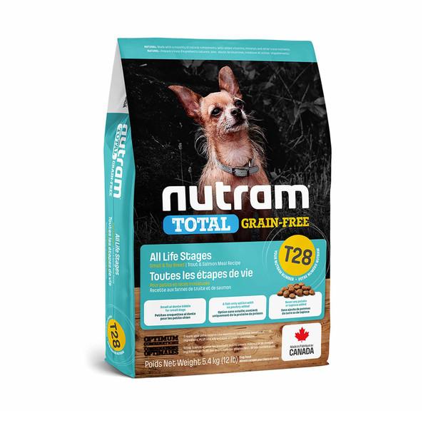 【紐頓nutram】T28 無穀迷你犬鮭魚5.4kg 067714102628