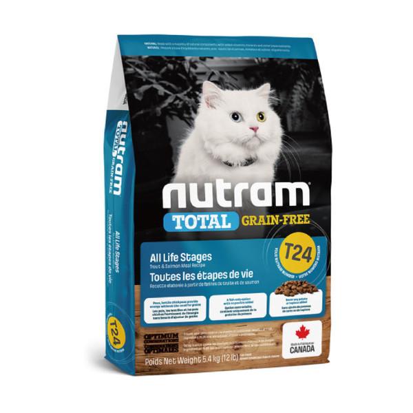 【紐頓nutram】T24 無穀貓鮭魚5.4kg  067714102840