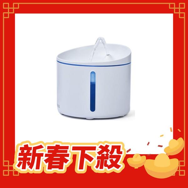 【DOGNESS-多尼斯】自動飲水機(活水機)-小1L-(白-粉)