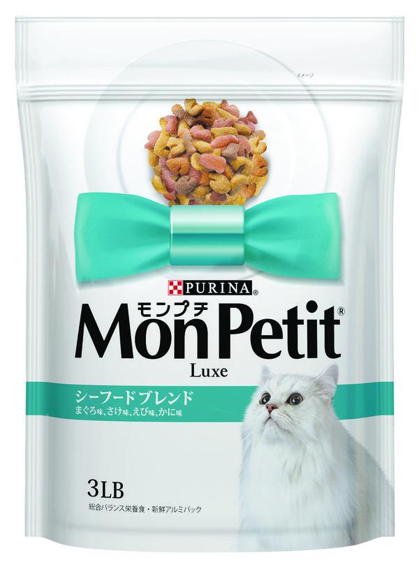 【貓倍麗MonPetit】貓倍麗乾糧(綠) 成貓海鮮拼盤(450g-3lb)
