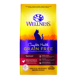 Wellness(貓)CHGF熟齡貓無穀雞肉5.5Lb