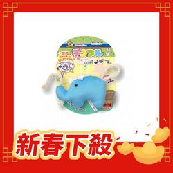 【DoggyMan】犬貓用絨毛玩具-藍大象草泥馬