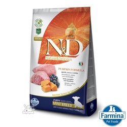 法米納南瓜無穀幼犬-羊肉藍莓2.5KG
