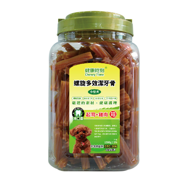 健康時刻-起司+雞肉(短)(小型犬桶裝)1450gDTC-206
