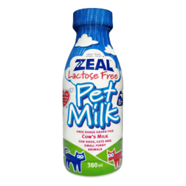 【ZEAL真致】紐西蘭犬貓專用鮮乳 (不含乳糖) 380ml/1000ml