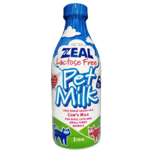 真摯紐西蘭犬貓專用鮮乳(不含乳糖)1000ml