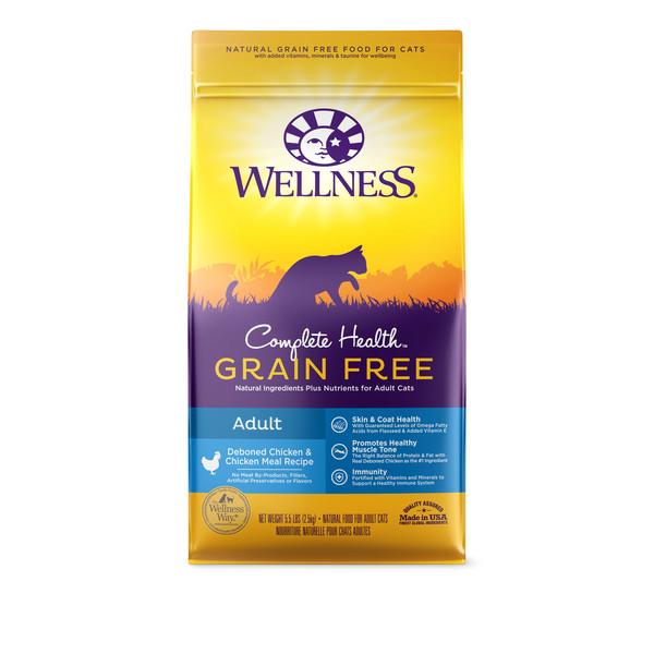 Wellness(貓)全方位無穀-成貓去骨雞肉5.5lb