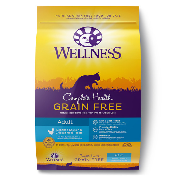 Wellness(貓)全方位無穀-成貓去骨雞肉11.5lb