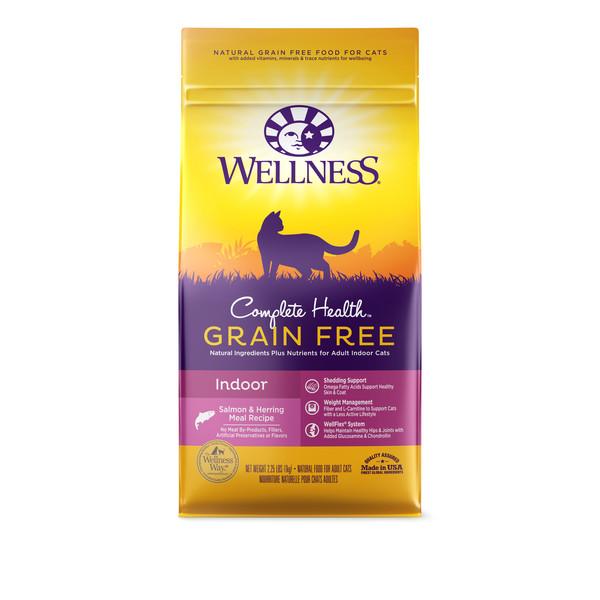 Wellness(貓)全方位無穀-室內貓深海魚2.25lb