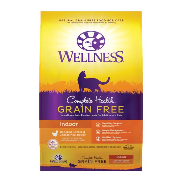 Wellness(貓)全方位無穀-室內貓無穀去骨雞肉11.5Lb