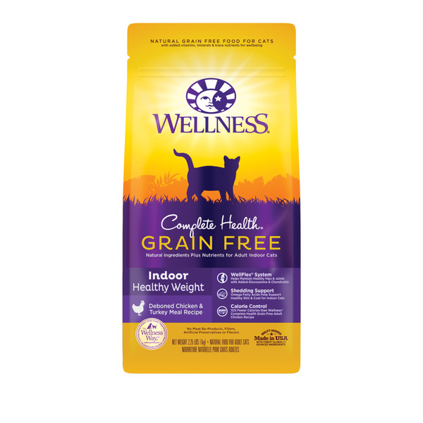 Wellness(貓)CHGF室內無穀體重控制2.25Lb