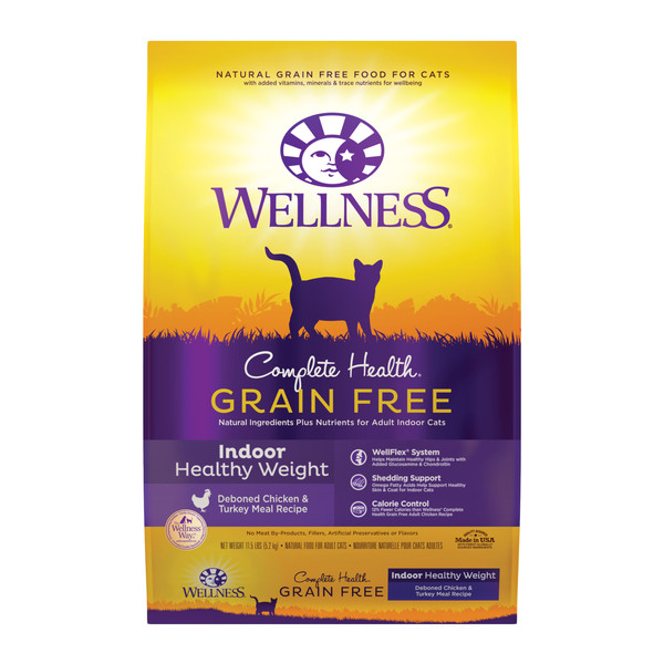 Wellness(貓)CHGF室內無穀體重控制11.5Lb