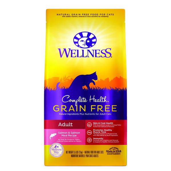 Wellness(貓)CHGF成貓無穀深海魚5.5Lb