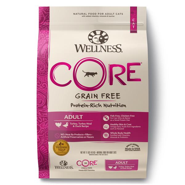 Wellness(貓)CORE無穀-成貓低敏田園均衡11lb