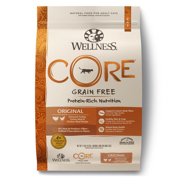 Wellness(貓)CORE無穀-成貓低敏經典美味11lb